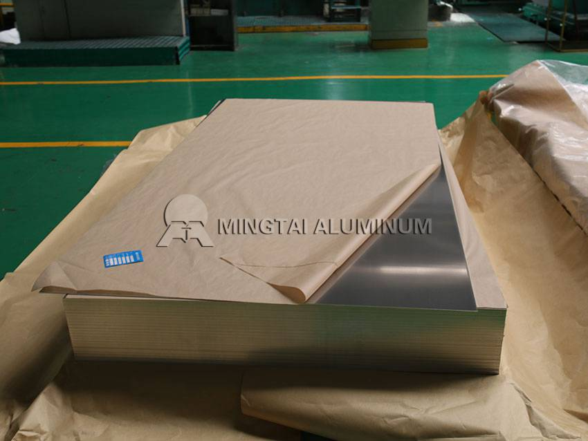 Stamped aluminum sheets