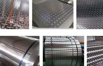 Checker plate aluminum sheets